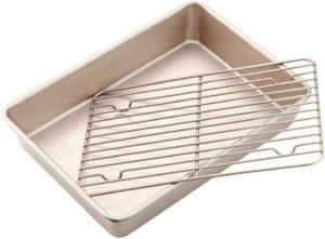 CHEFMADE Roasting Pan with Rack